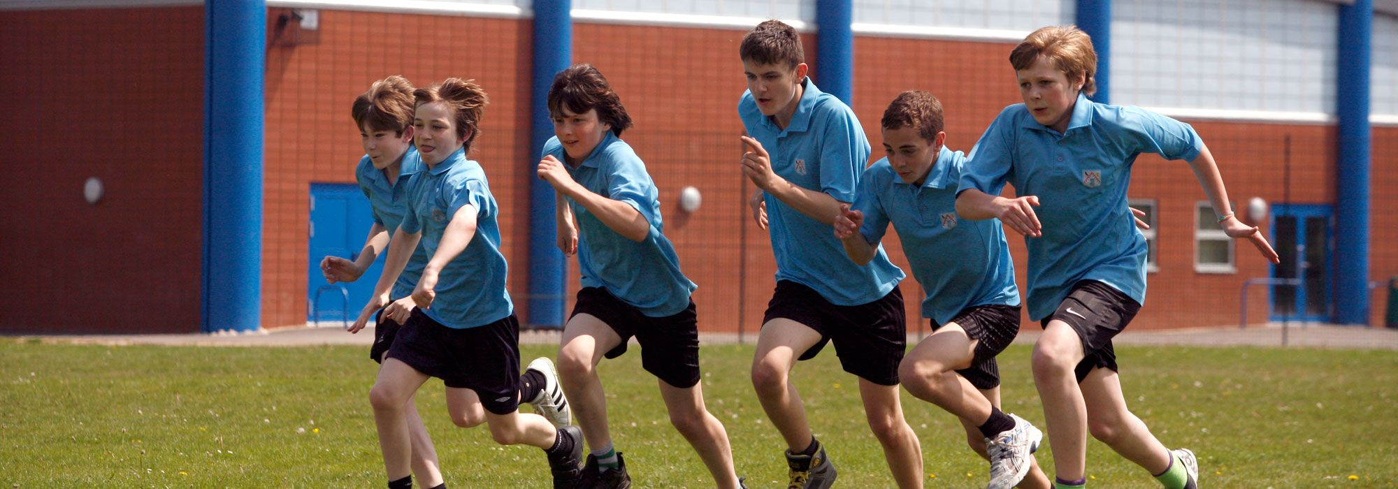 Boys athletics club in Wrexham