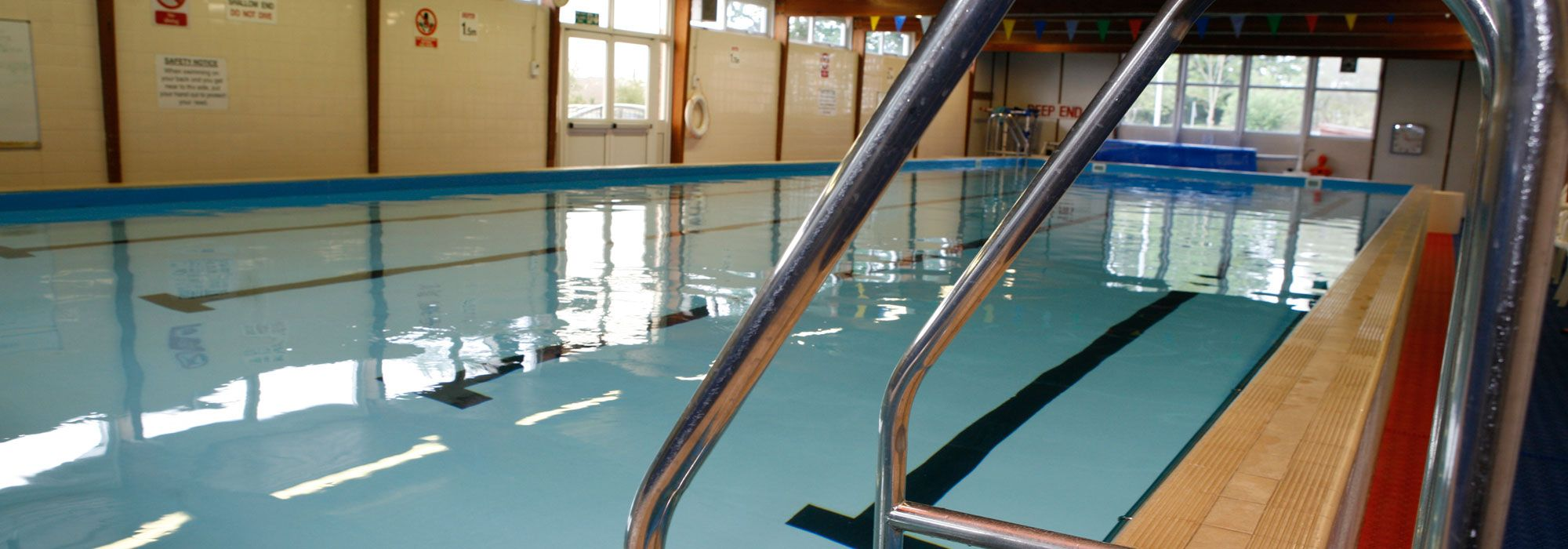 Swimming pool in Penley, Wrexham