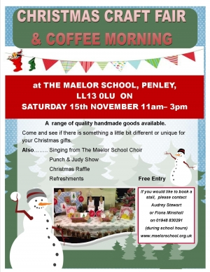 Christmas Craft Fair & Coffee Morning - THANK YOU