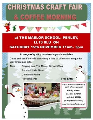 Christmas Craft Fair & Coffee Morning - THANK YOU