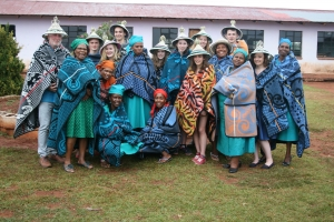 Cultural Evening with our Lesotho Visitors