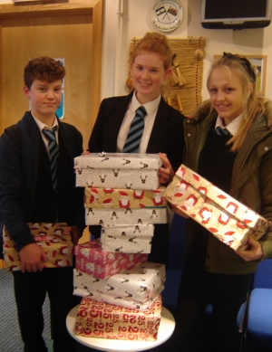 Operation Christmas Child Maelor School Support