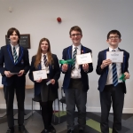 "Maths Geniuses ""Best in region"""